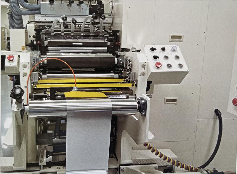 diaphragm of battery poles cutting machine